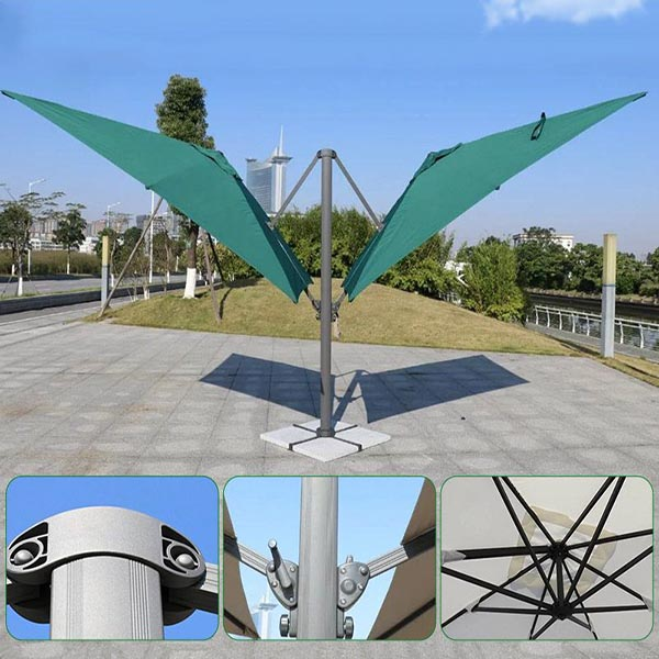 Square Outdoor Umbrella Cantilever