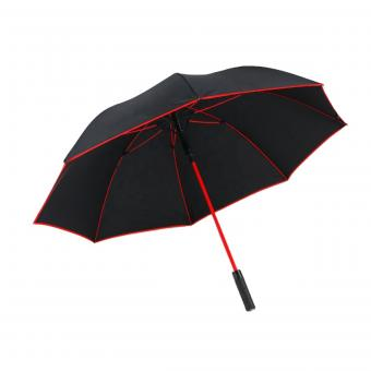 Plain Fabric Piping Golf Umbrella