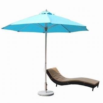 Patio Umbrella with Rope Pulley